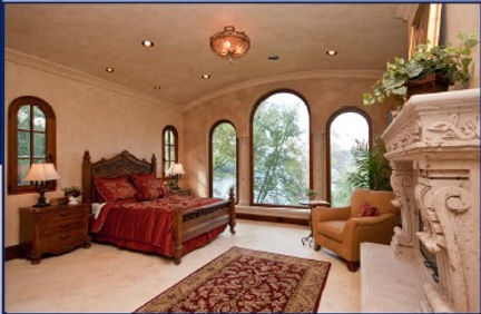 Executive Residential Master Bedroom