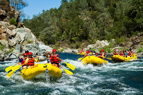 Spirit of California AMERICAN RIVER RAPIDS