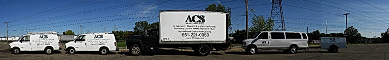 Advanced Coating Systems Trucks