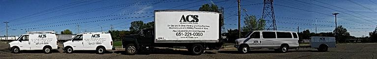 Advanced Coating Systems Trucks