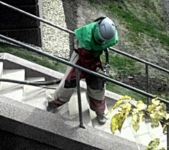 ACS Sandblasting Railings