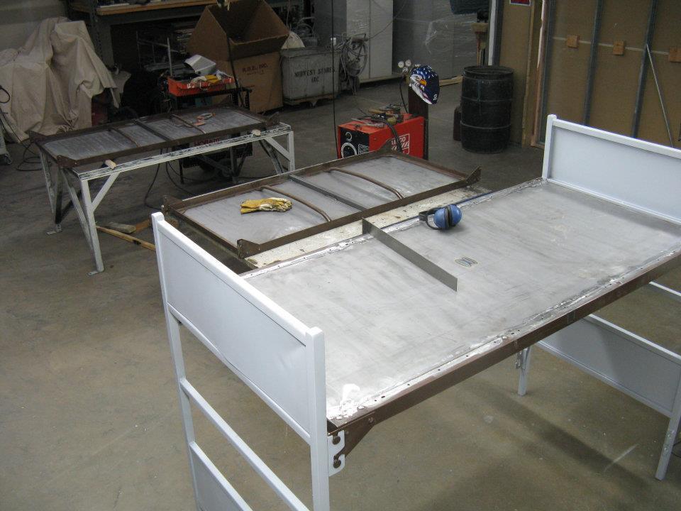 Fabricating Bunk Beds