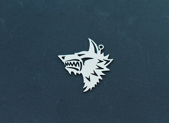 Space Wolf Small size pendant