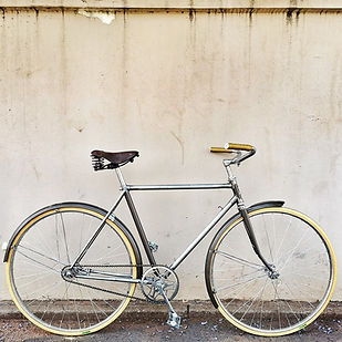 Vintage single speed bicycle
