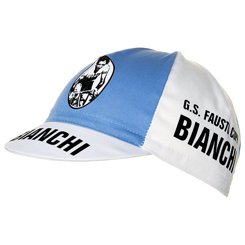 Bianchi Fausto Coppi vintage style cycling cap