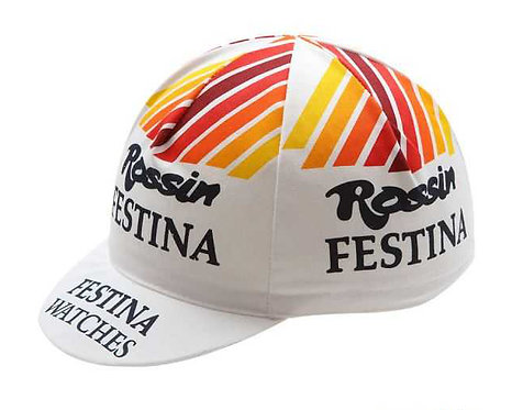 Rossin Festina vintage style cycling cap
