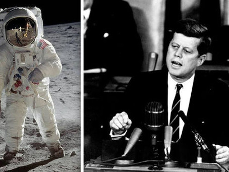 I believe JFK is the other hero of the Apollo 11 mission. Here's why ...