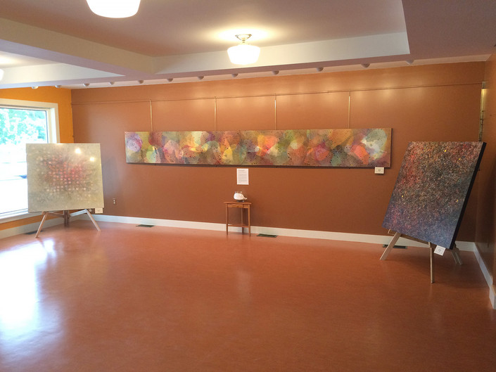 Paintings at Dublin Community Center