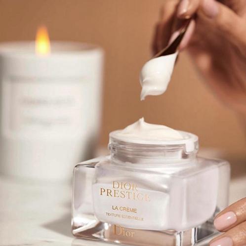 DIOR PRESTIGE La crème - texture essentielle 玫瑰花蜜活顏再生乳霜-極緻滋養