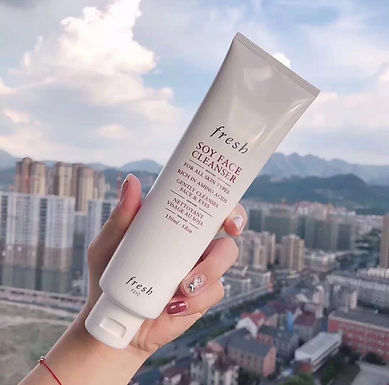 Fresh Soy Face Cleanser大豆卸妝潔面乳