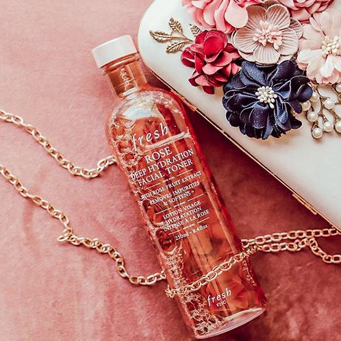Fresh Rose Deep Hydration Toner玫瑰深層保濕柔膚水
