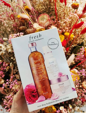 Fresh Rose Deep Hydration Set 玫瑰深層保濕套裝