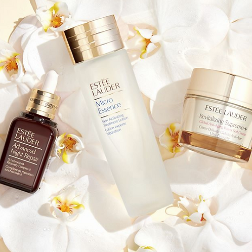 ESTEE LAUDER Advanced Night Repair+Micro Essence+Revitalizing Supreme Soft Creme