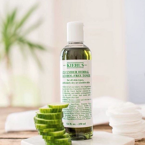 Kiehl's Cucumber Herbal Alcohol-Free Toner 科顏氏青瓜植物爽膚水