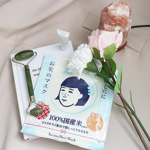 KEANA Rice Mask日本米精華保濕面膜10pcs
