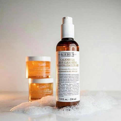 Kiehl's Calendula Deep Cleansing Foaming Face Wash金盞花深層潔面泡沫
