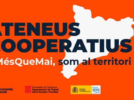 #MésQueMai, ELS ATENEUS COOPERATIUS A PROP VOSTRE!