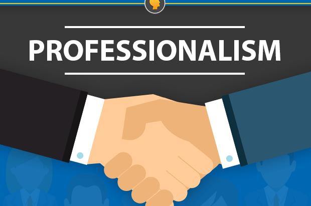 Professionalism - Dr. Dave Ledrick