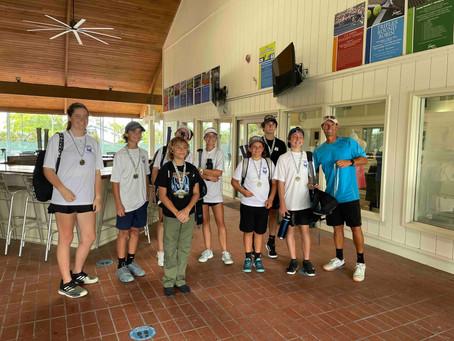 Landrum at Sawgrass - SJMSAA Tennis Teal Flight Champions!