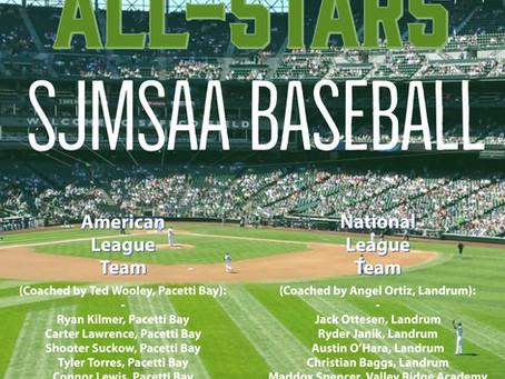 Congratulations to our 2021 SJMSAA Baseball All-Stars!