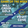 Games Of The Week - V and JV 3/29/21