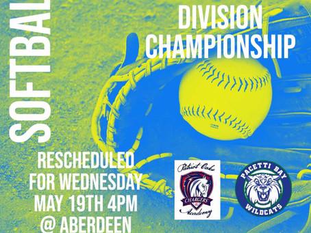 SJMSAA Softball Championship!