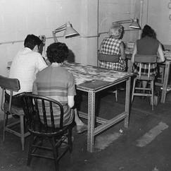 Female patients working 1970 © John Gray