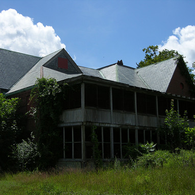 Back of Farm Hall