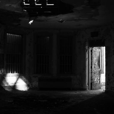 Reflection of attic window