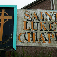 St. Lukes Chapel sign