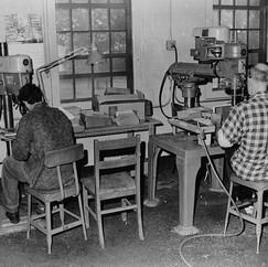 Male patients working 1970 ©John Gray