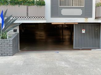 The parking garage where Whitey was arrested.