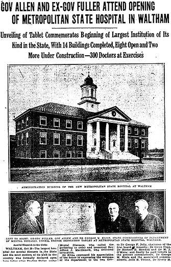 Metropolitain State Hospital 1930