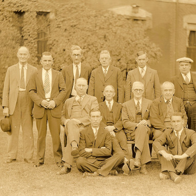 Various administrative staff and doctors.