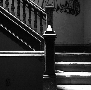 Kirkbride main/front admin staircase