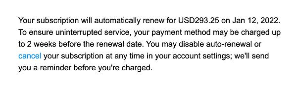 DSH Invoice
