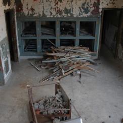 Morgue prepped for demo