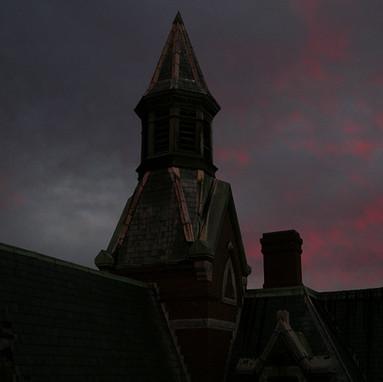 Turret at sunrise