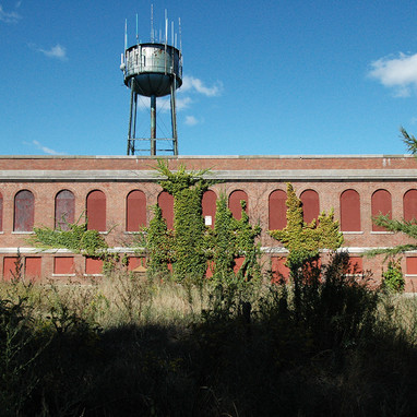 Cafeteria and Water Tower