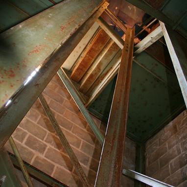 Gray Gables staircase
