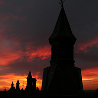 Turrets at sunrise