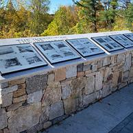 October, 2019 memorial finally installed.