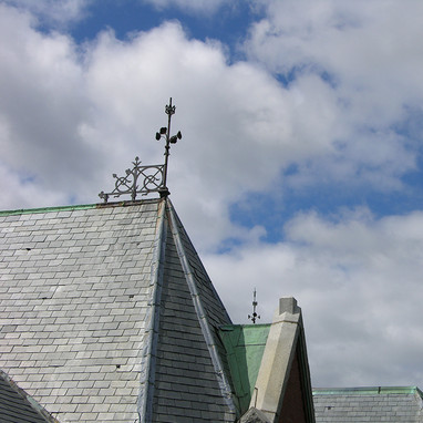 Turrets and roof detail