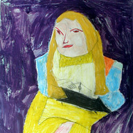 Christopher, Portrait of Betsy (a social worker and studio team member)