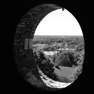 Kirkbride main tower window