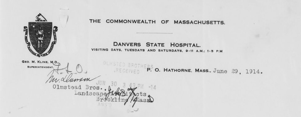Danvers State Hospital Downsizing John Gray