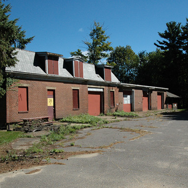 Service Building and Garages