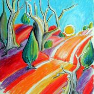 Priscilla, Rolling Landscape