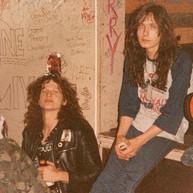 Snake (Voi Vod) Rob Fioretti (Kreator) 1987