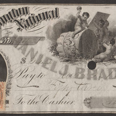 Bradlee bank note